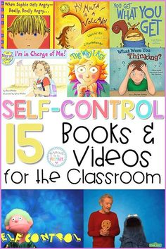Teach Self-Regulation Strategies with these Popular Books and Videos 15 self-regulation and self-control books and videos for the classroom to teach kids to calm down, self-regulate, and manage their behavior. Social Skills Lessons, Teaching Social Skills, Teaching Kids, Kids Learning, Character Education Lessons, Education Quotes, Life Skills, Social Skills For Kids, Teaching Character