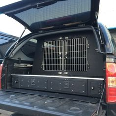 Deluxe Hunter Pick Up Systems | Dog Van Conversions | Hawk Boxes and Cadges, Perches, falcony Products