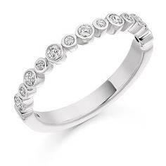 Stunning Eternity Ring for him White Gold Eternity Rings, Eternity Ring Diamond, Diamond Clarity, White Gold Rings, Diamond Rings, Round Cut Diamond, Diamond Cuts, Womens Wedding Bands, Wholesale Jewelry