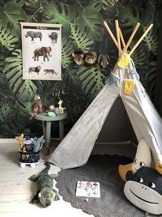 18 fun backyard kids design ideas for summer outdoor playground - Wholehomekover Playroom Design, Kids Room Design, Jungle Theme Nursery, Nursery Decor, Jungle Jungle, Nursery Ideas, Room Decor, Baby Boy Rooms, Baby Room