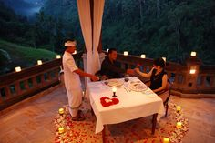 Romantic Dinner Places Around The World
