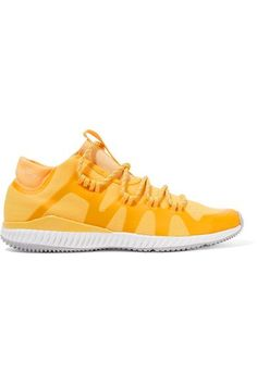 Adidas by Stella McCartney - Crazytrain Bounce Mesh Sneakers - Bright yellow - UK