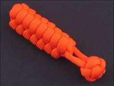 How to Make a Rattlesnake Knot (Paracord) Key Fob by TIAT