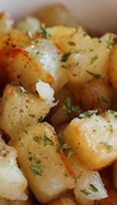 Crispy Breakfast Potatoes | Catz In The Kitchen mmmmm