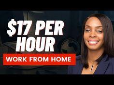 🔥JOB ALERT - $17/hr, Work from Home, Data Entry & Customer Service - YouTube
