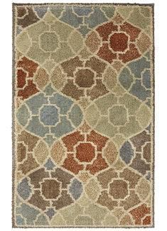 I am Springing into Style with this rug from #AmericanRugCraftsmen!
