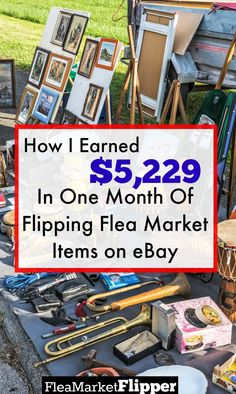 Flipping used flea market, thrift store and yard sale Items online for profit is my passion! Love using eBay!