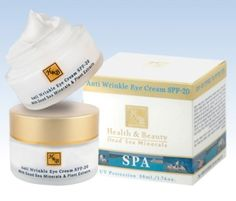 H&B Dead Sea Anti Wrinkle Eye #Cream SPF 20 by aJudaica
