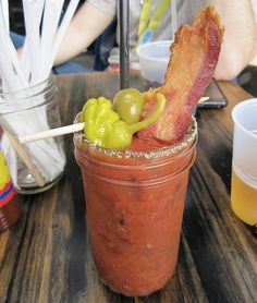 Bacon Bloody Mary - yes please!