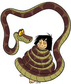 Image result for jungle book kaa