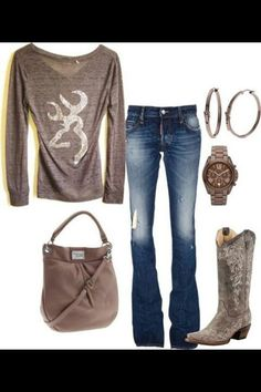 J Mode Country, Estilo Country, Country Girl Style, Country Fashion, Country Chic, Country Wear, Country Life, Country Strong, Country Casual