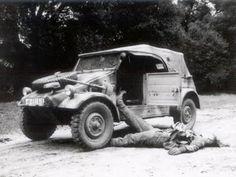 HISTORIA PARA NO DORMIR: Kübelwagen: el escarabajo marcha a la guerra. 1º parte.