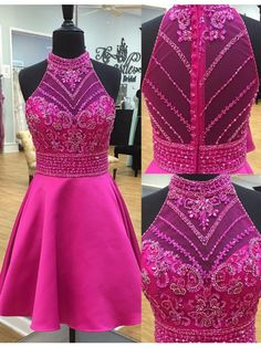 short homecoming dresses,modest homecoming dresses,beaded homecoming dresses,short prom dresses