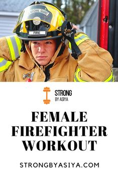 You have trained hard to get this honour and your work shows how amazing you are. Here's to you women: a female firefighter workout! Firefighter Workout, Firefighter Training, Firefighter Emt, Wildland Firefighter, Volunteer Firefighter, Female Firefighter Quotes, Strength Training For Beginners, Strength Training Workouts, Becoming A Firefighter