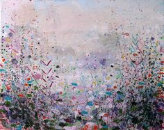 "Saatchi Online Artist: Sandy Dooley; Acrylic, 2013, Painting ""Winter Afternoon"""