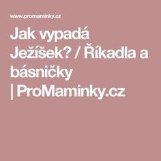 Jak vypadá Ježíšek? /Říkadla a básničky |ProMaminky.cz