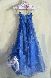 >>>Maggie Siner, Blue Sparkle, oil on canvas. Love her brushwork!!!!!!!!