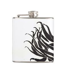 Black Tentacles Flask