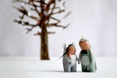 custom wedding cake topper by royalmint by MountRoyalMint on Etsy, $140.00
