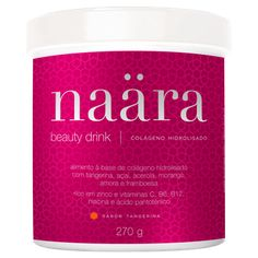 Delicious, tangerine flavored hydrolyzed collagen drink that is rich in vitamin C, B6, B12, niacin, pantothenic acid, and zinc