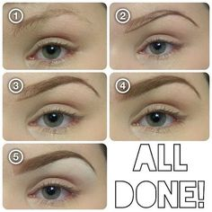 How To Easily Fill In Your Eyebrows