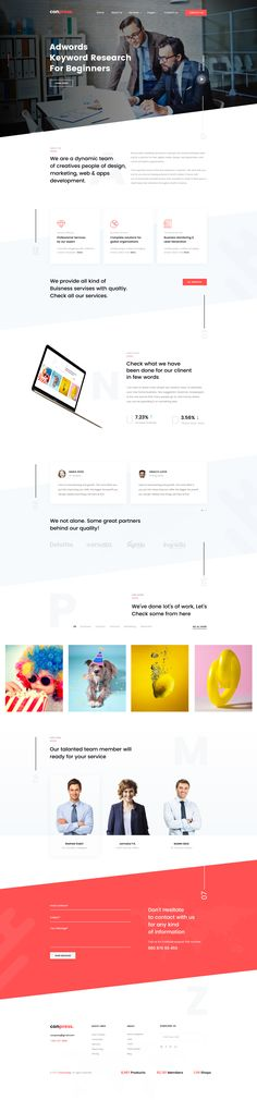 Conpress is a professional, modern crafted PSD template which can be used for agency, marketing, consulting, start-up and related any business website.    Here you will get 35 layered PSD with an e...