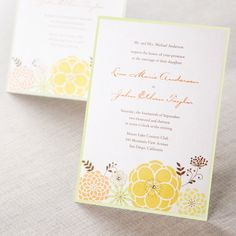 One Sunny Day II by B Wedding Invitations