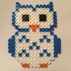 Owl perler beads by mugglemerch