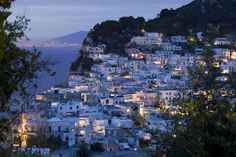 Capri Island.  Love, love, loved Italy!  Can't wait to go back. Beautiful scenery, quaint villages, wonderful food, and warm, welcoming people!