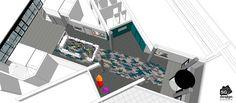 CANOPE Hall d'entrée - Vue globale par SG DESIGN ARCHITECTURE