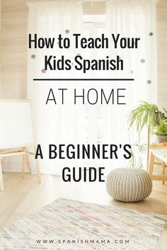 How to Teach Your Kids Spanish at Home. Tons of free resources, links, and ideas for learning Spanish as a family.