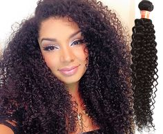 Natural Black Brazilian Human Hair Extension Jerry Curly Wave Hair Weave 50g/pcs