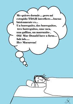 Los trastornos del sueño asociados con el TDAH!