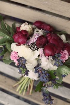These darker peonies are that splash of burgundy we're going for, it doesn't have to be peonies though @Tiffany Ball
