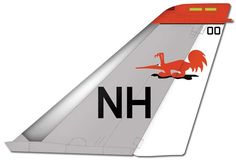 """VF-114 """"Aardvarks"""" Tail Markings"""