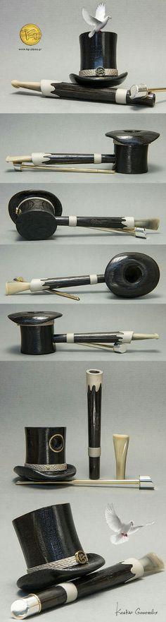 Magicians Hat (Morta wood) by Kostas Gourvelos