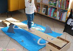 jeu pirate planche  Activité manuelle pirate  Anniversaire pirate L'art est un jeu d'enfant