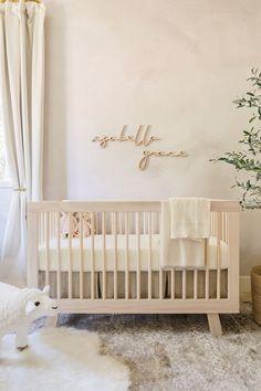 Neutral Nursery Design by Little Crown Interiors Nursery Room, Girl Nursery, Nursery Ideas, Girl Room, Baby Room, Nursery Decor, Floral Nursery, Nursery Neutral, Best Baby Cribs