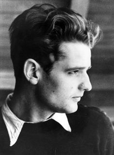 """Hans Scholl of The White Rose, a small group of students and one professor at the University of Munich who defied and spoke out against Nazi horrors. In less than a year in 1943 Hans, his sister Sophie and Christoph Probst were caught, ""tried"" and beheaded. They saw crimes against humanity and resisted, knowing that this would cost them their lives. At a time when conformity turned an entire nation into a murderous mob, they remained individualists, becoming heroes of all mankind."""