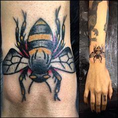 Valeu @carolxmags #tattoo #beetattoo #zzzz #
