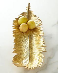 Sago+Palm+Bread+Plate+by+Michael+Aram+at+Neiman+Marcus.