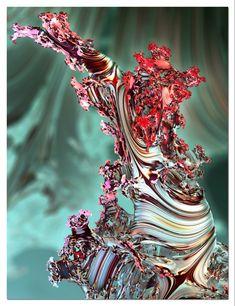 Fractal Art, Fractals, Deviant Art, Color Tattoo, Bulb, Deep, 3d, Artist, Artwork