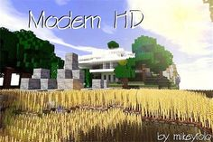Modern HD Resource Pack 1.7.5/1.7.4 - http://www.minecraftjunky.com/modern-hd-resource-pack-1-7-51-7-4/