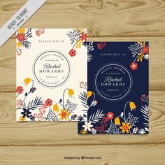 Bachelorette invitation with beautiful floral decoration. Download thousands of free vectors on Freepik, the finder with more than a million free graphic resources