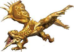 """Monster Hunter """"Gold Rathian"""""""