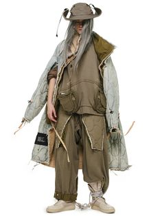 Weird Fashion, Boy Fashion, Fashion Design, Armor Clothing, Heavy Clothing, Character Outfits, Mode Style, Look Cool, Costume Design