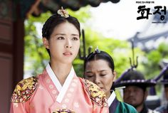 Splendid Politics(Hangul:화정;hanja:華政;RR:Hwajeong) is a 2015South Koreantelevision seriesstarringCha Seung-won,Lee Yeon-hee,Kim Jae-won.It aired onMBC. Prince Gwanghae, son of a concubine, usurps theJoseonthrone from his father King Seonjo's direct bloodline. Gwanghae executes the favored legitimate son, and exiles his half-sister Princess Jeongmyeong. Banished from the palace, Jeongmyeong lives as a commoner disguised as a man while plotting her revenge.  정명공주 이연희