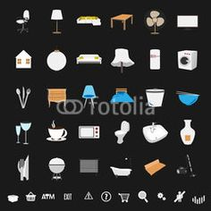 Home symbol #buttons #designs #internet, #tools #icon #technology #image #decoration #market #buy #sales #people #mall #concept #online #commerce #graphic #vector