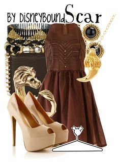 Scar by leslieakay on Polyvore featuring polyvore, fashion, style, Joveeba, ASOS, Olia Designs, Chanel, Disney and clothing