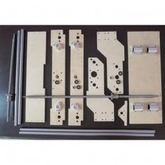 Набор для самостоятельной сборки чпу станка Моделист4060